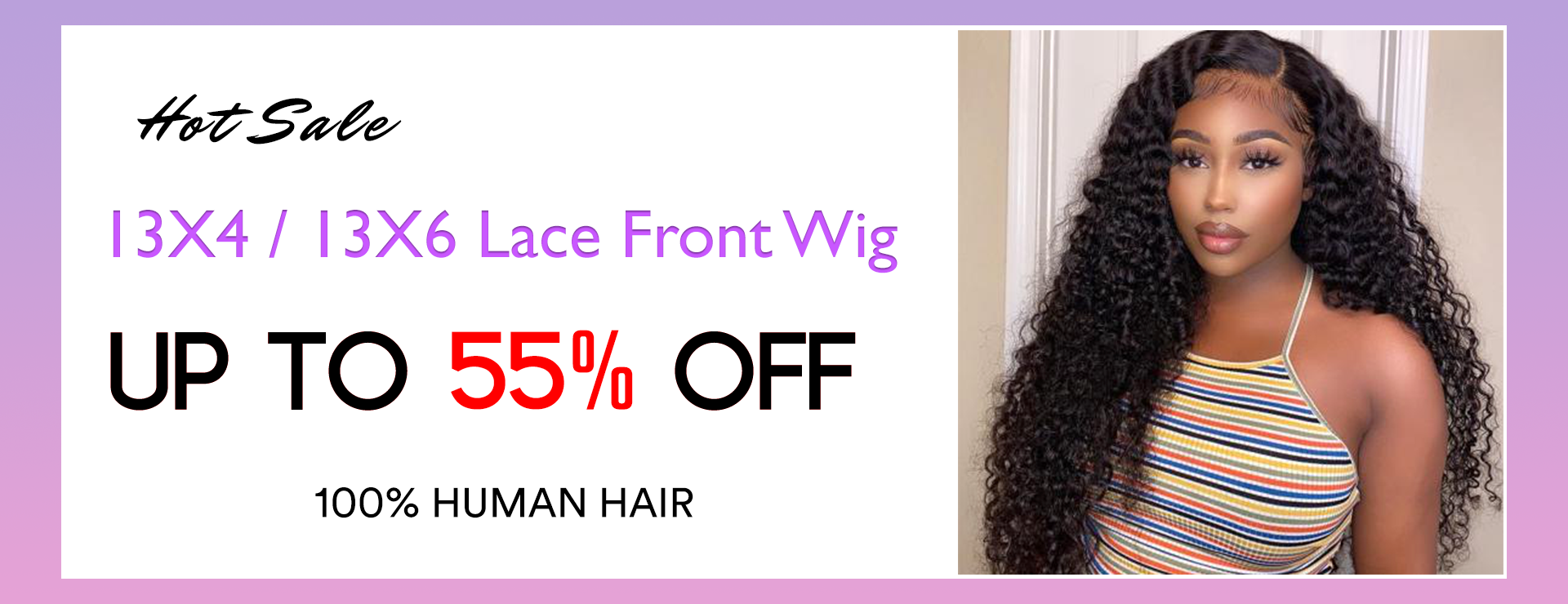 lace front wig hot sale