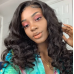 Stema Big Loose 360 Lace Frontal Wig Pre Plucked With Baby Hair 250% Density Remy Human Hair Wigs