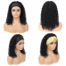 Stema Headband Wig Human Hair Kinky Curly Wig No PrePlucked Hairline