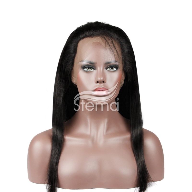 360 Lace Frontal Closure 22.5x4x2 With Adjustable Strap Malaysian Straight Hair