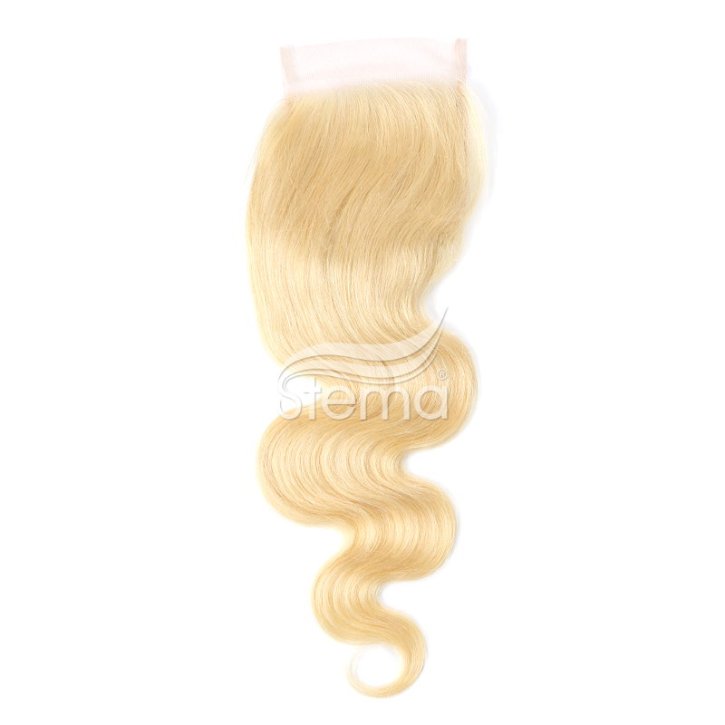 #613 4x4 Lace Closure Virgin Hair Body Wave