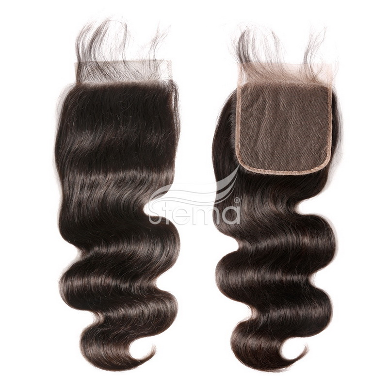 5 X 5 Lace Closure Body Wave Brazilian/ Malaysian/ Peruvian/ Indian Virgin Hair