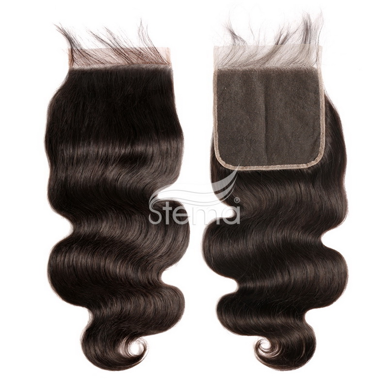 6 X 6 Lace Closure Body Wave Brazilian/ Malaysian/ Peruvian/ Indian Virgin Hair