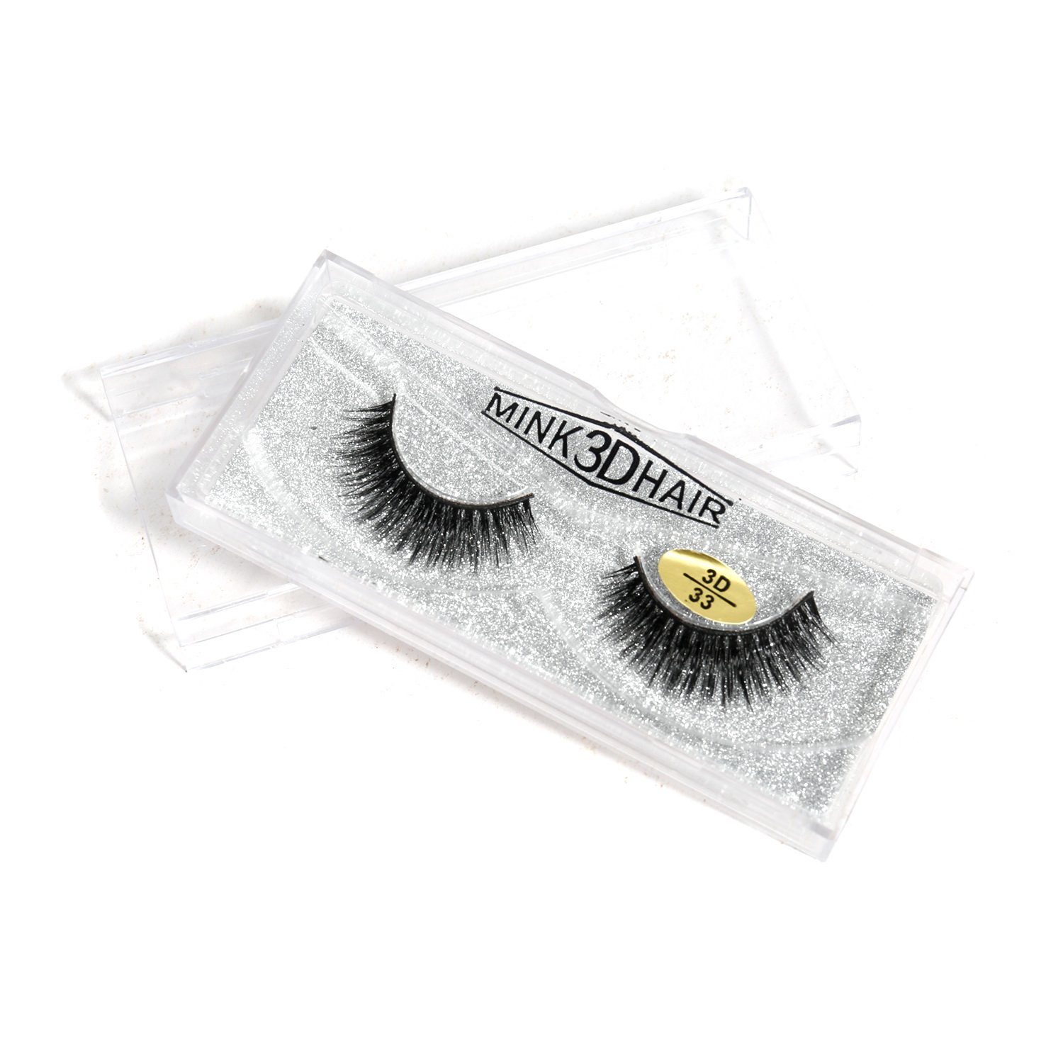 3D Real Mink Eyelashes Natural Long False Eyelashes 100% Hand Made Eyelashes Extension