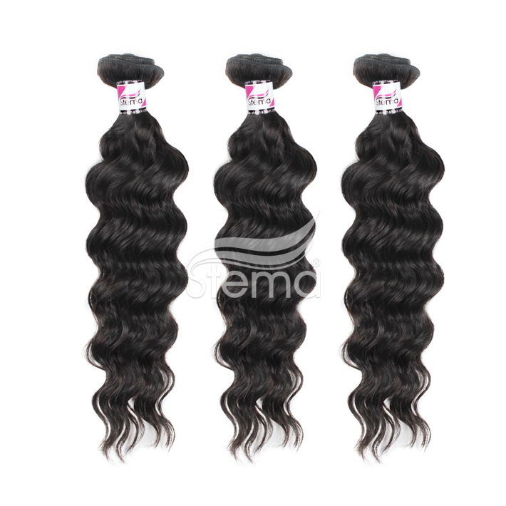 virgin cambodian natural wave hair weave