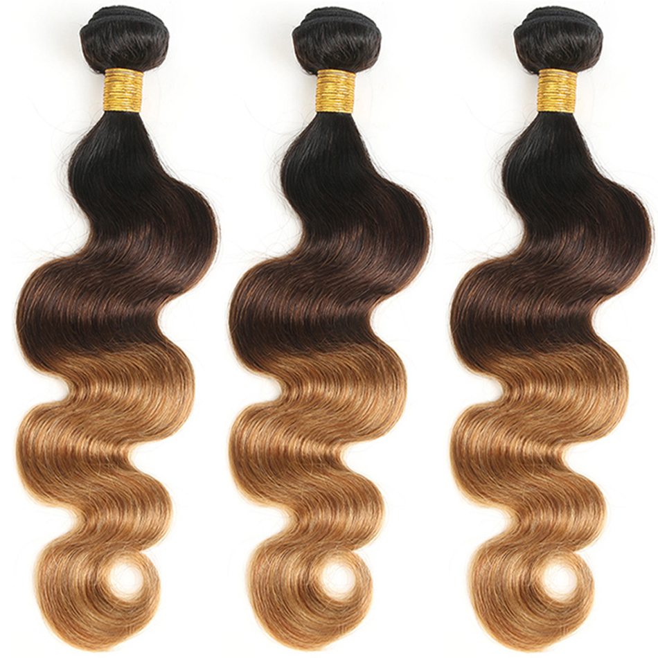 T1B/4/30 Ombre Color Hair Body Wave Hair