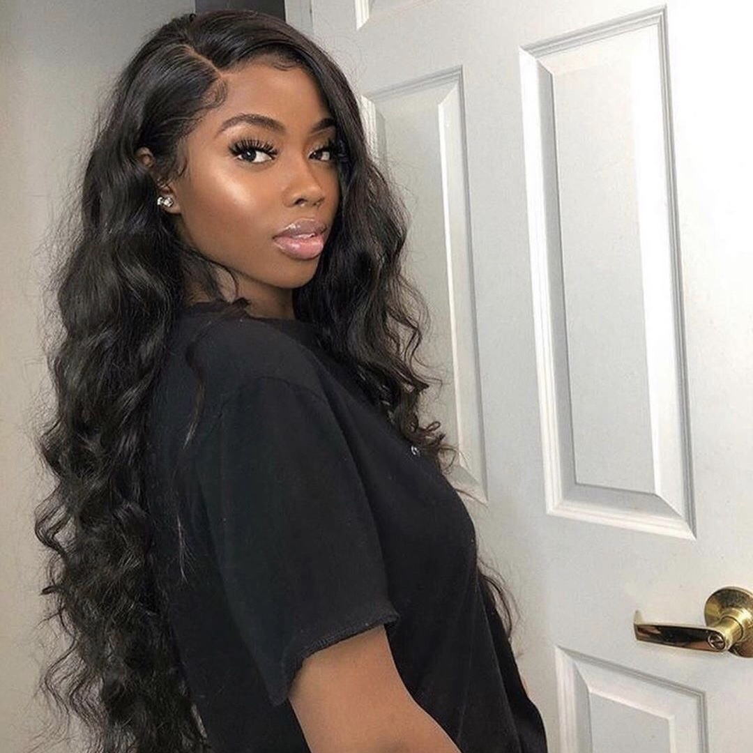 Stema Loose Wave Lace Front Wig Pre Plucked with Baby Hair 150% & 180% Density Human Hair