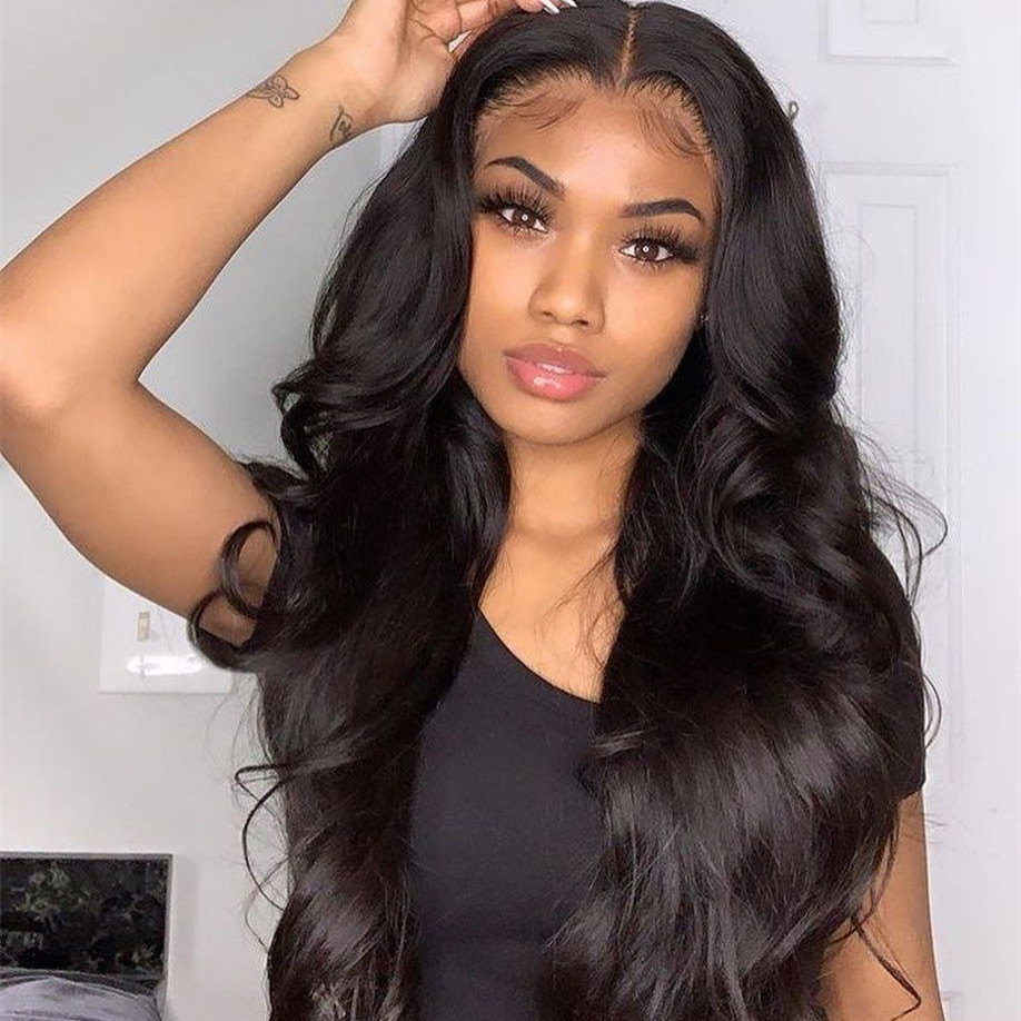 Stema 4X4 Lace Body Wave Closure Wig 150% Density